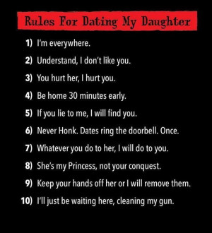 Dating my daughter rules