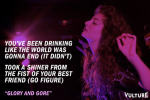 Lorde Quotes