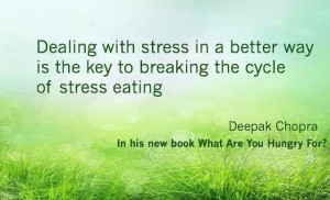 dealing with stress...
