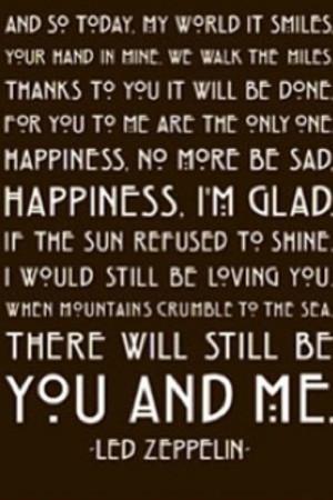 Thank You | Led Zeppelin