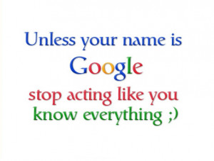 Well guys we all know about the reality of google, the most popular ...