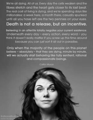 Death | Caitlin Moran
