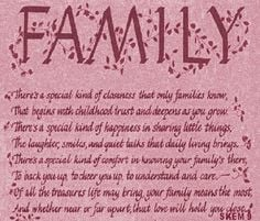 My family means the world to me ♥ More