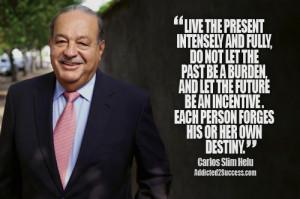 Carlos Slim Entrepreneur Picture Quote For Success