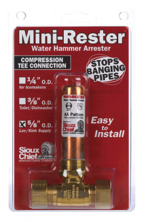 Sioux Chief 660-GT Mini-Rester Water Hammer Arrester 5/8