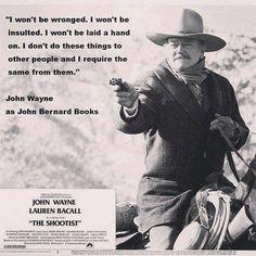 John Wayne in The Shootist More
