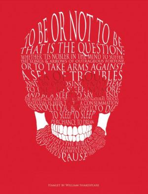 Hamlet Skull Print Product code: 26100