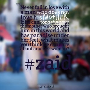 Quotes Picture: never fall in love with a man who does not love his ...