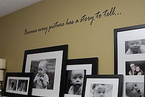 Quote the Walls wall quotes are great because they look hand painted ...