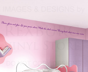 Wall-Decal-Sticker-Quote-Vinyl-Art-Lettering-Letter-Rapunzel-Tangled ...