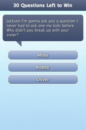 View bigger - Hannah Montana Quote Trivia for Android screenshot