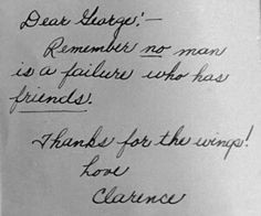 Its a wonderful life movie quote