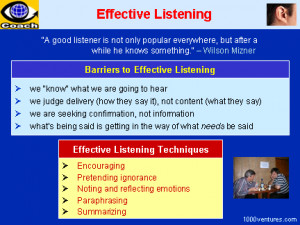 Two Types of Active Listening Techniques