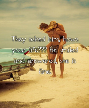 romantic quotes for him life