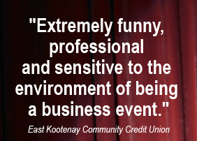 Make your next Event a hit with Corporate Comedy Specialist Brian ...