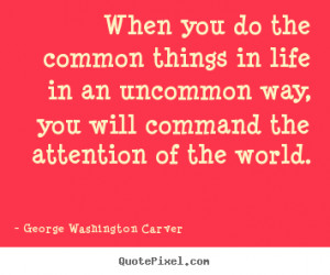 George Washington Carver Quotes On Success