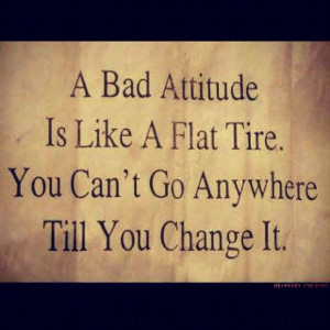 See more What is a bad attitude?