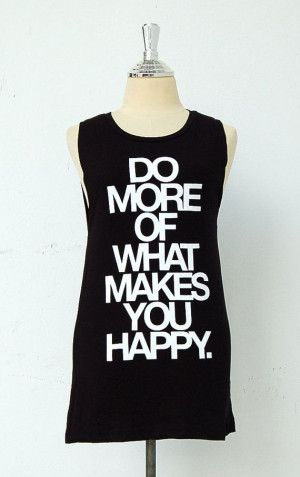 Black tank top/sleeveless tee shirt with quote by GodspeedYouShop, $14 ...