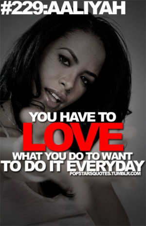 Aaliyah Quotes From Songs