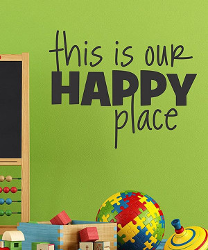Take a look at this 'Happy Place' Wall Quotes Decal on zulily today!