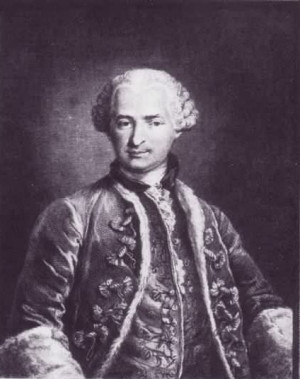 The Comte de Saint Germain, c 1784.