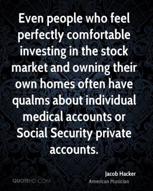 Jacob Hacker Medical Quotes