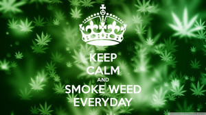 Hey, hey, hey, hey...smoke weed everyday