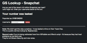Snapchat Website Screenshot