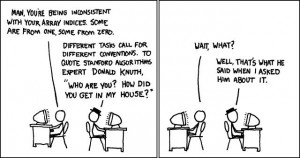 If you've not come across xkcd before, they can be very funny.