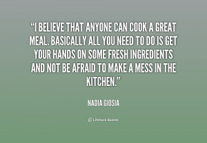 ... Basically all you need to do is ... - Nadia Giosia at Lifehack Quotes