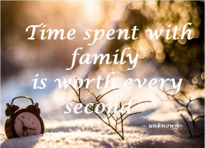 Pondering and Time With Family Plans~