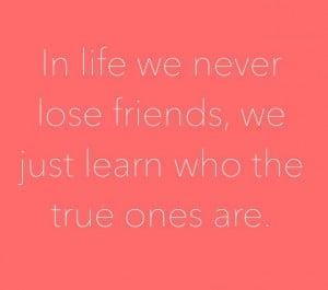 ... will come and go, but the REAL friends will stay. #friendship #quote