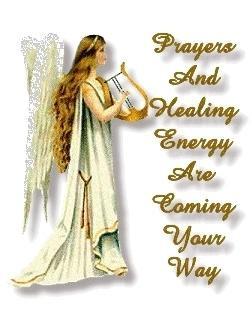 Sending healing prayers..