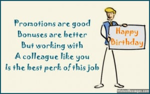 Happy Birthday Male Coworker Happy Birthday Message For Coworker