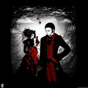 Here Is Gothic Love Wallpaper