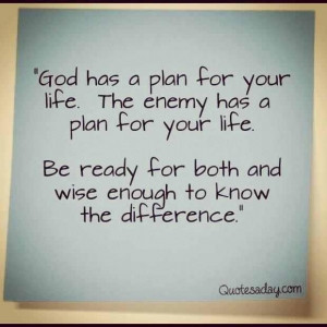 God always has a plan for you!