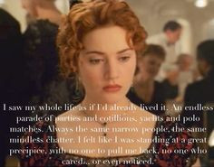 Movie titanic quotes