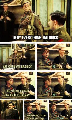 My favourite Blackadder scene of all time -