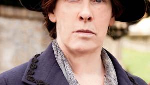 Mrs Hughes Downton Abbey Phyllis Logan Phyllis logan is nothing like