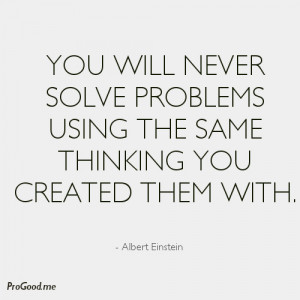 Problem Solving Albert Einstein Quote Wallpaper Picture