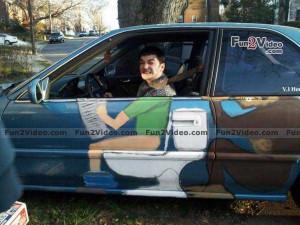 ... painting funny hunting srandovni auta funny paintings punjabi