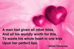 Cute Kissing Quotes - the Perfect Romantic Valentine and Kissing Quote