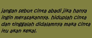 Indonesia Love Quotes