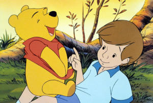 Winnie the Pooh and Christopher Robin - winnie-the-pooh Photo