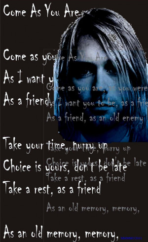 Come As You Are - NIRVANA. (Incorrect Lyrics ~