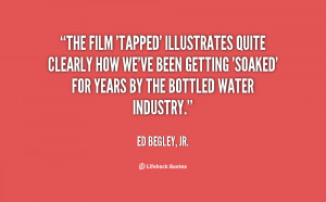 The film 39 Tapped 39 illustrates quite clearly how we 39 ve been ...
