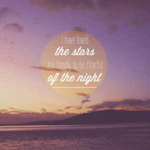 night sky quote
