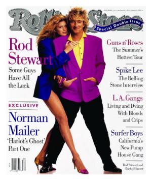 Quote of the Day (Rod Stewart, on Wedding Rachel Hunter)