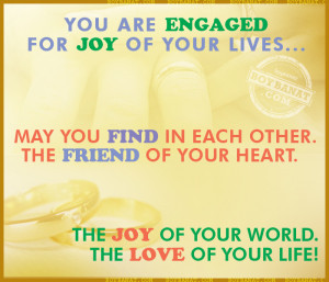Engagement Quotes and Sayings
