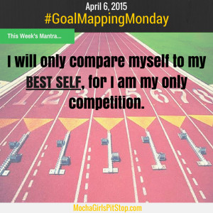 Stay in Your Lane & Compare Yourself to Your Best Self